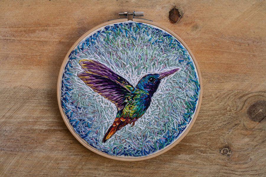Beautiful Embroideries by Danielle Clough (25 pics)