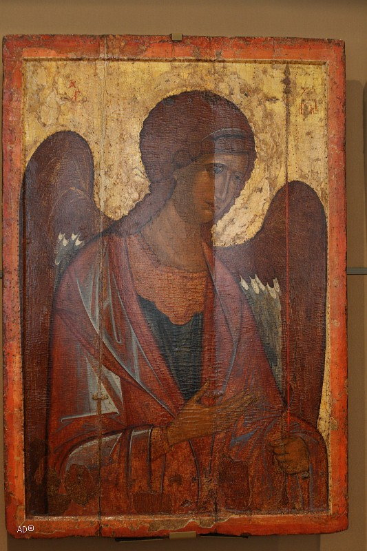 Архангел Михаил, из деисусного чина, Византия, 147 × 104 см , 1387 г.