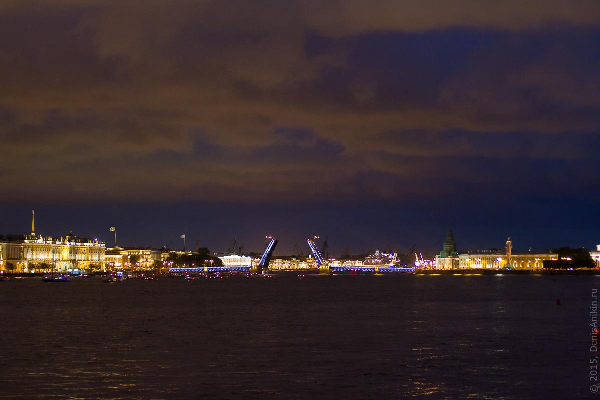 Санкт-Петербург развод мостов 4