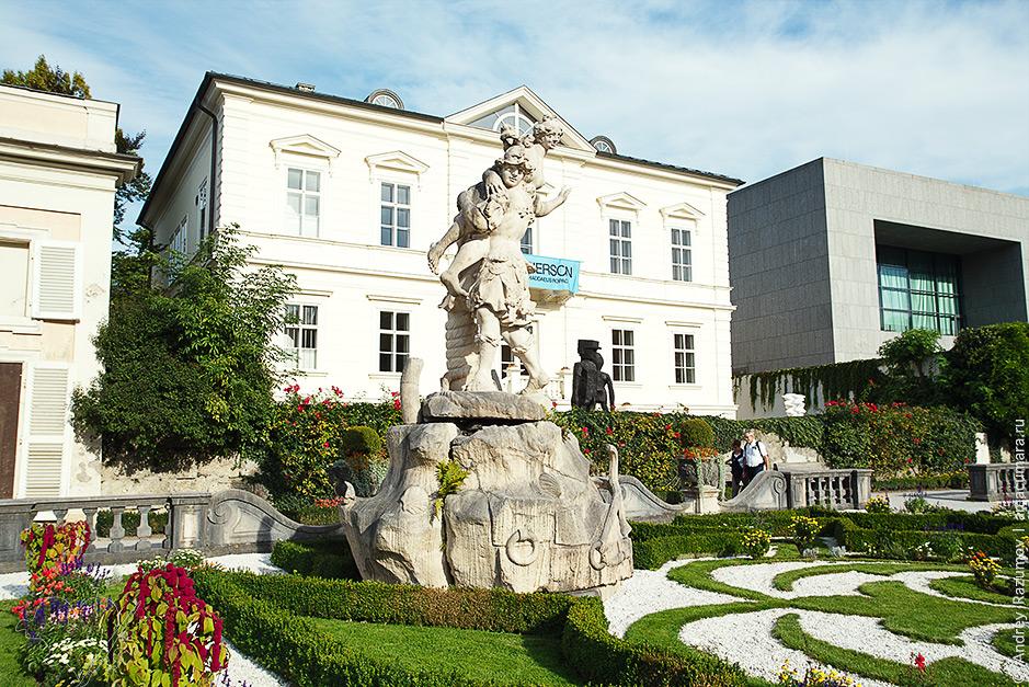 что посмотреть в Зальцбурге Парк дворца Мирабель
