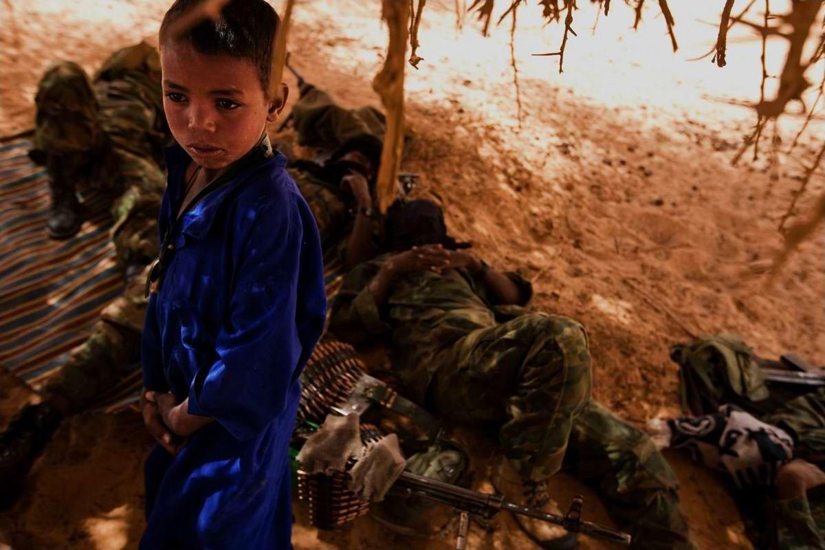 Воинственные североафриканские туареги на снимках фотографа из ЮАР Brent Stirton (6)