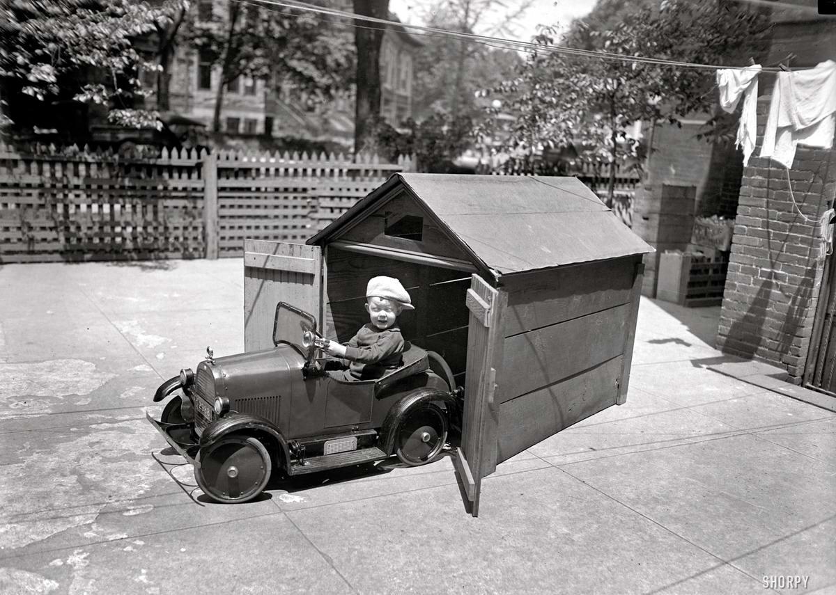 Детский педальный автомобиль (Вашингтон, 1925 год)