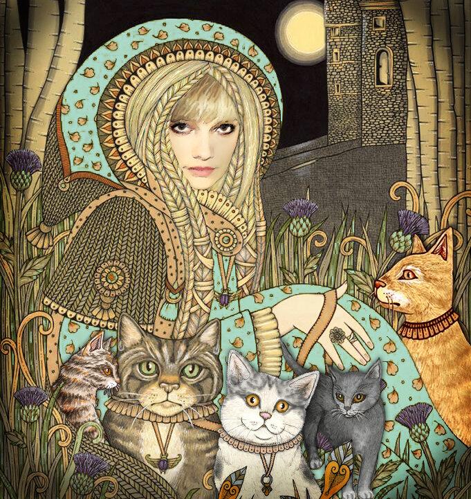 Авка Ambercloud и коты)