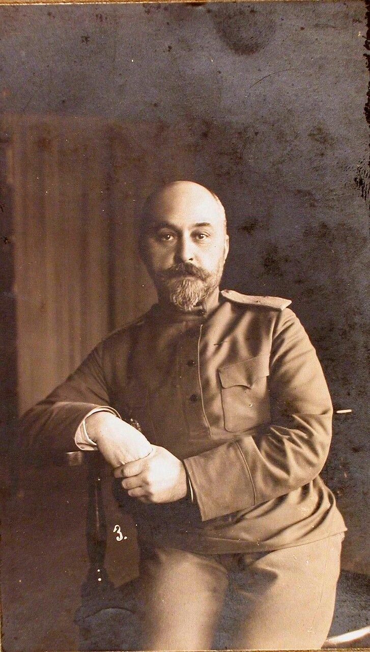 02. Генерал-квартирмейстер Генерального штаба генерал-майор Соковнин. Ковель. 1915