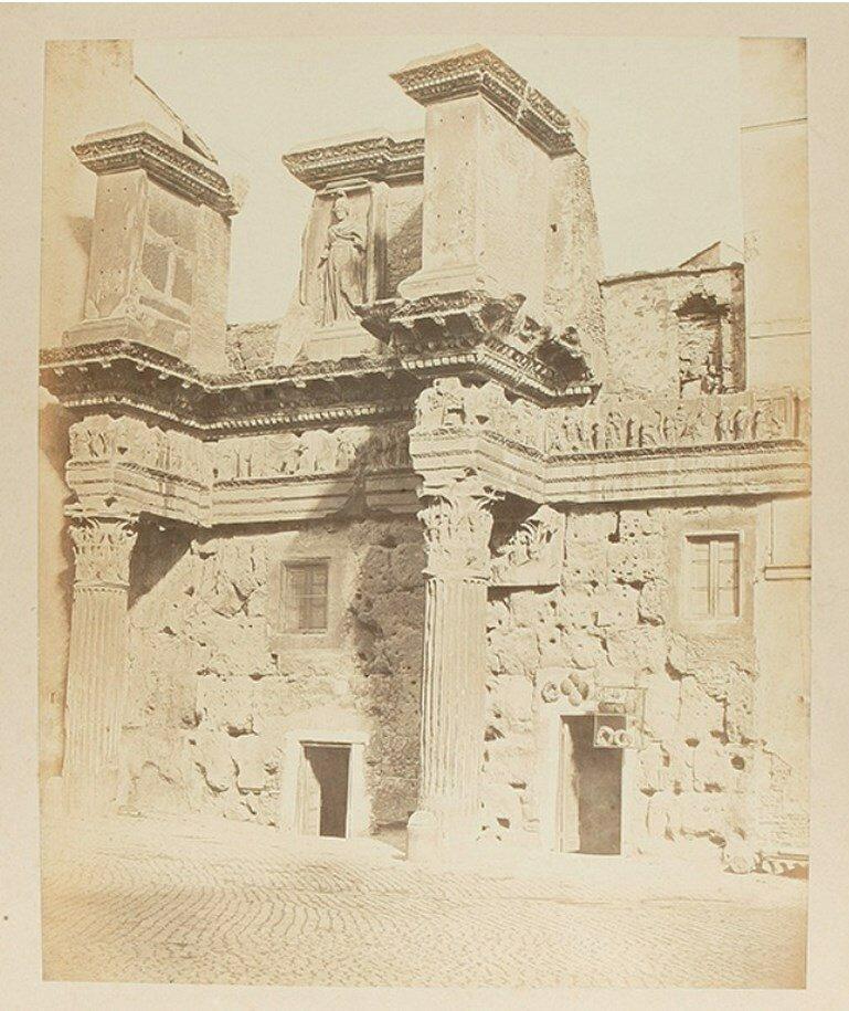 Портик Минервы на форуме Нервы. 1855