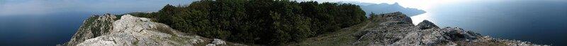 Панорама с вершины Куш-Кая