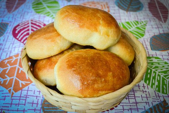 Дрожеввые пирожки с картошкой рецепт с фото
