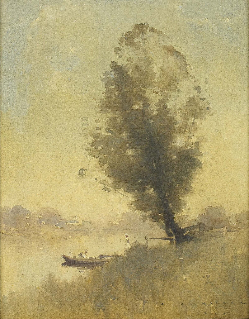 J. J. Hilder - Grey Gold, Dora Creek, 1915.jpeg