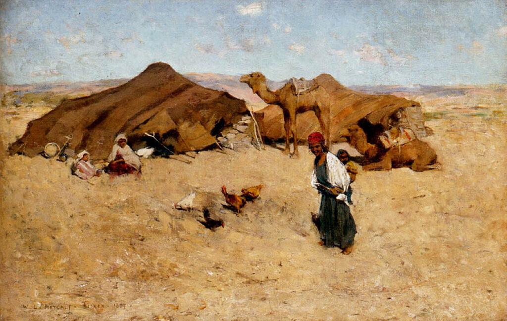Arab Encampment, Biskra.jpg