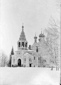 Троицкая церковь в нарвском имении барона Штиглица. Вид с юго-запада
