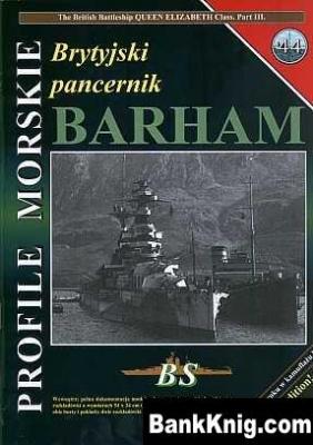 Книга Brytyjiski pancernic HMS Barham