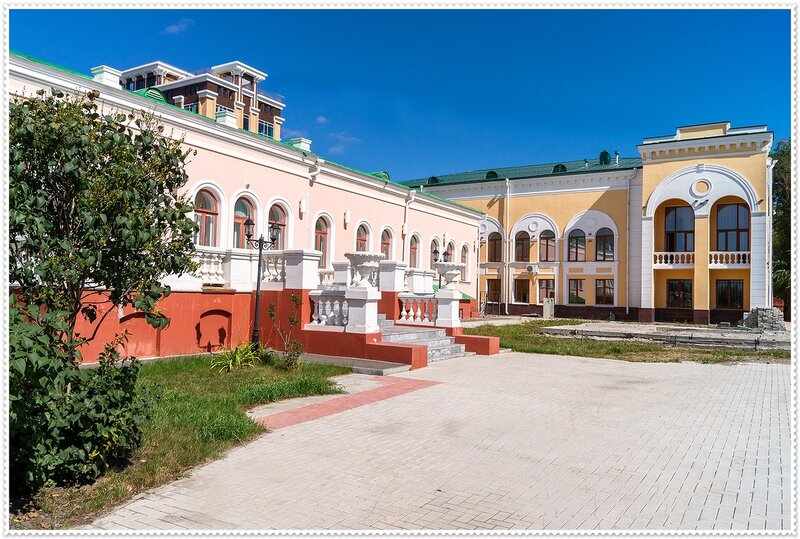 Особняк купца Батюшкова (Дом Колчака) Омск