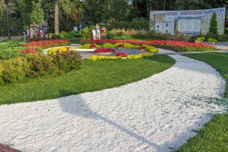 Выставка цветов, Нижегородский кремль