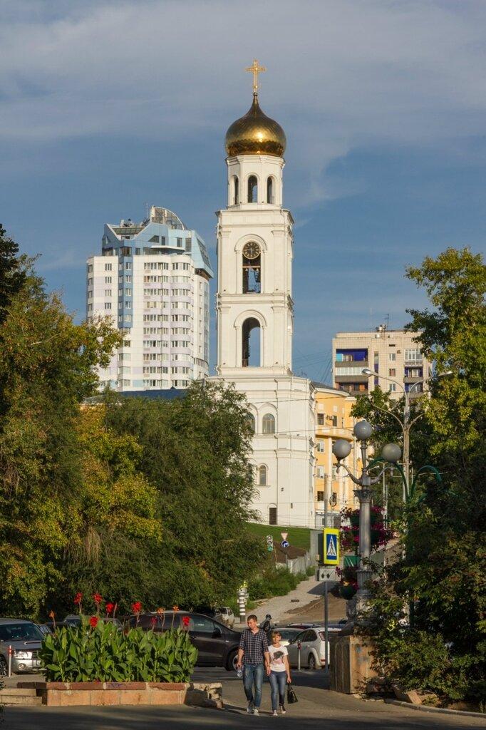 Колокольня Иверского монастыря