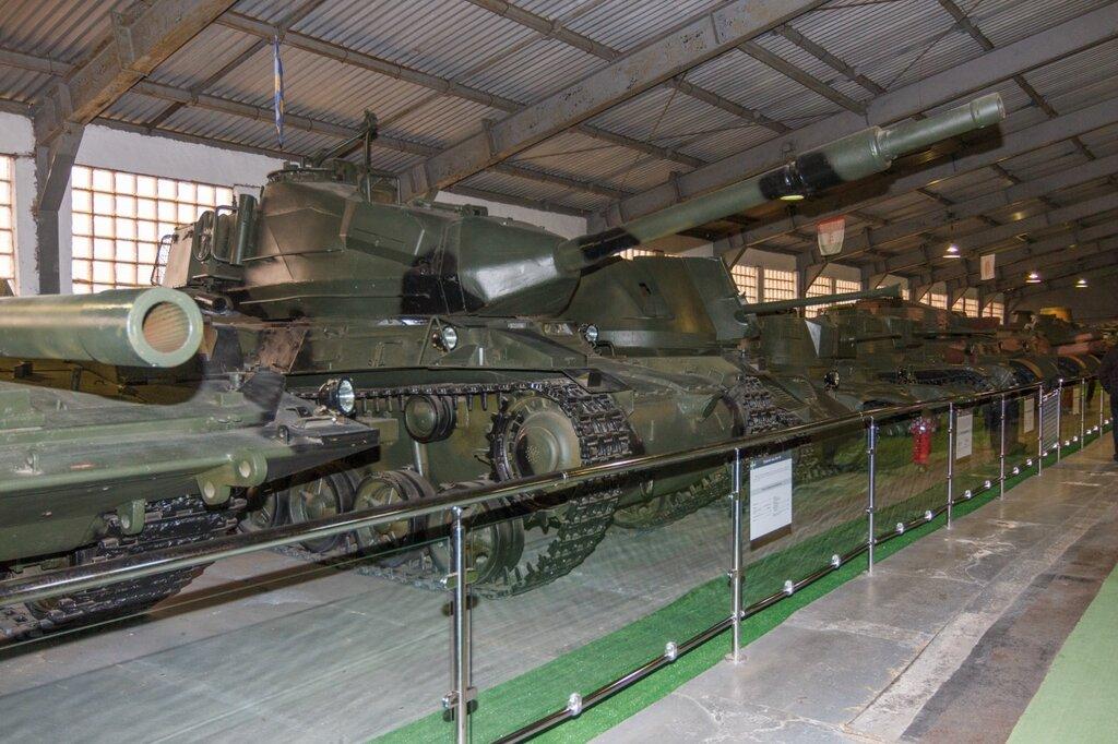 Stridsvagn 74, Кубинка