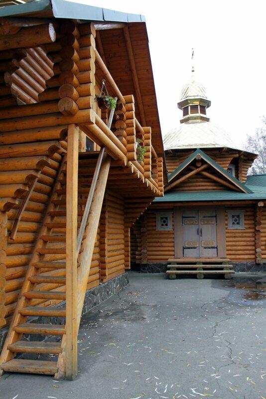 Конструкция деревянного храма князя Владимира