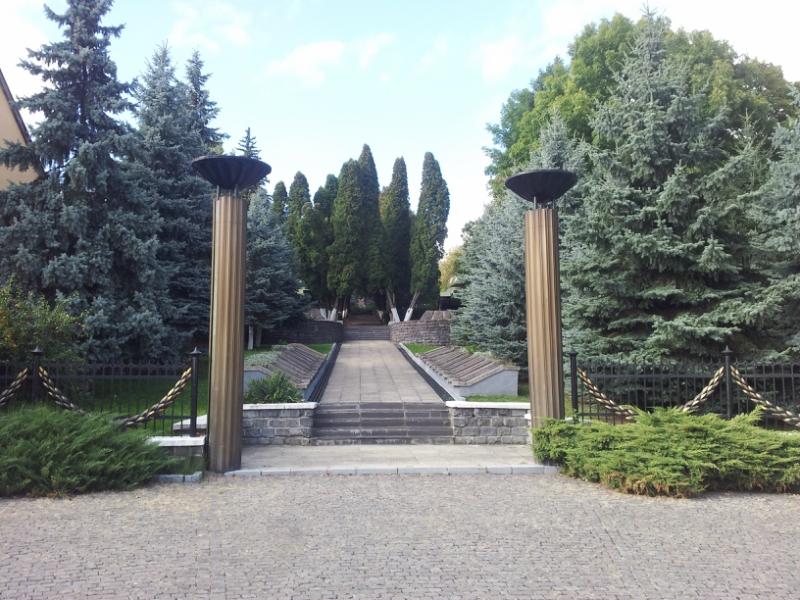 Военное кладбище в Ужгороде (фото)