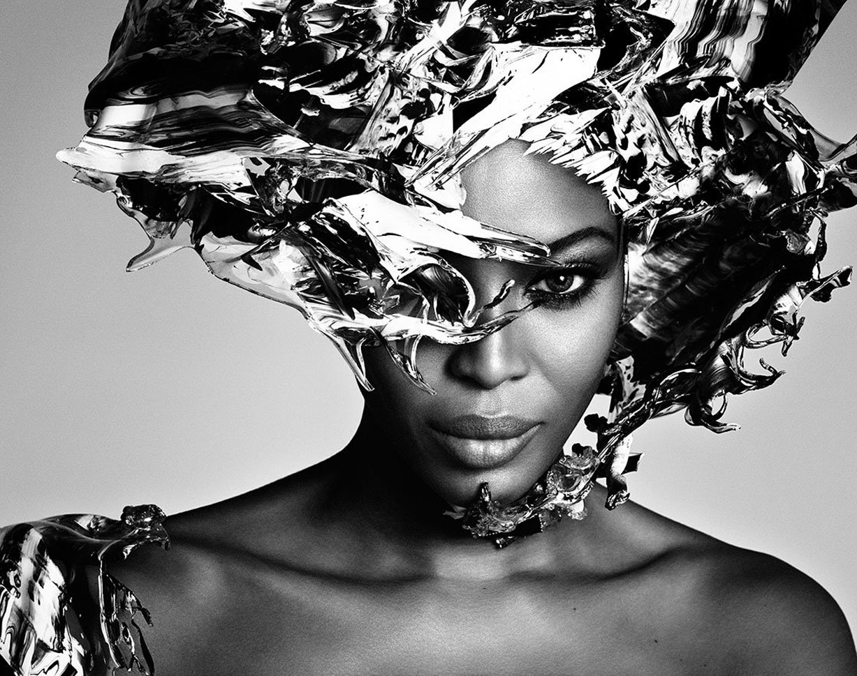 Наоми Кэмпбелл / Naomi Campbell by Luigi + Iango for Exhibition Magazine No.5