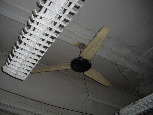 Фото 16. Советский вентилятор. Крупный план.