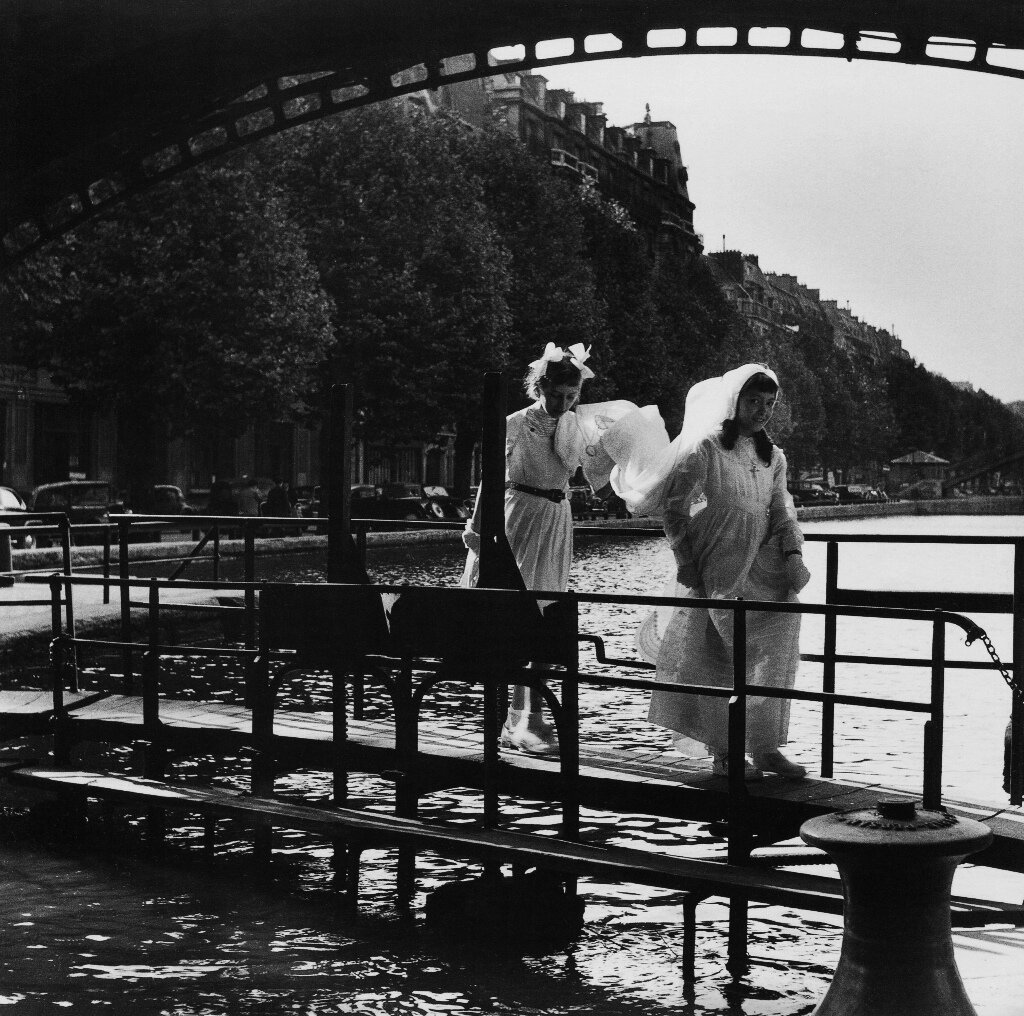 1953. Канал Сен-Мартен