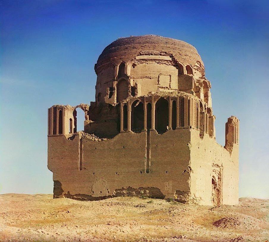 Древний Мерв. Мавзолей султана Санджара