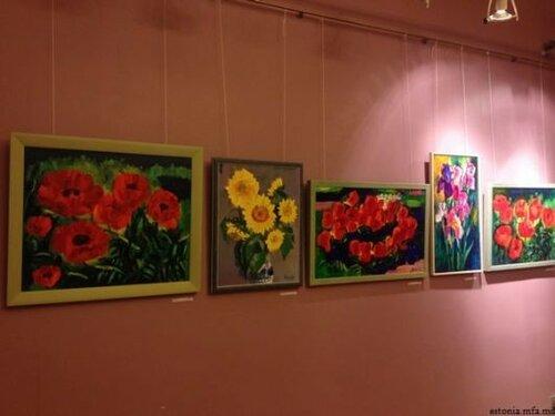 В Таллине прошла выставка работ молдавского художника