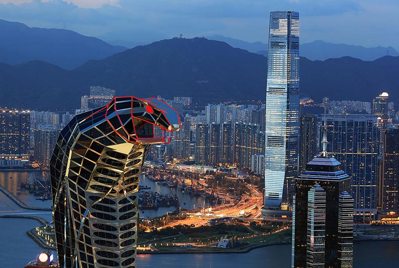 «Башня-кобра»: амбициозный концепт от российского архитектора
