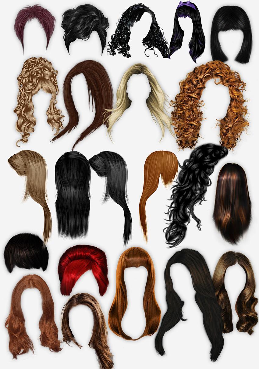 женские причёски скачать