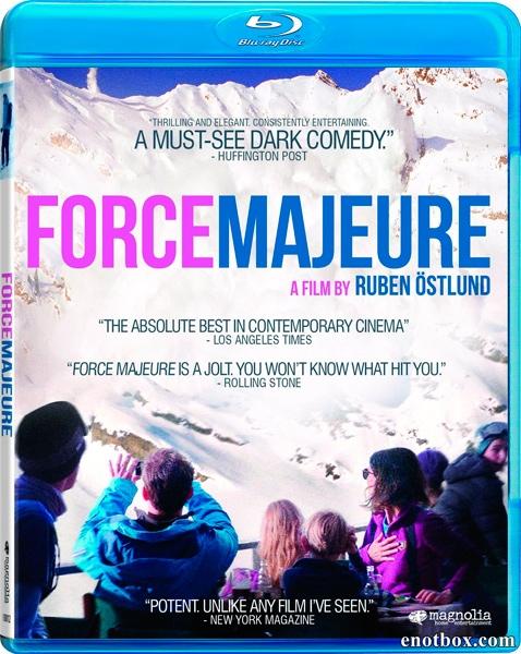 Форс-Мажор / Force-Majeure / Turist (2014/BDRip/HDRip)