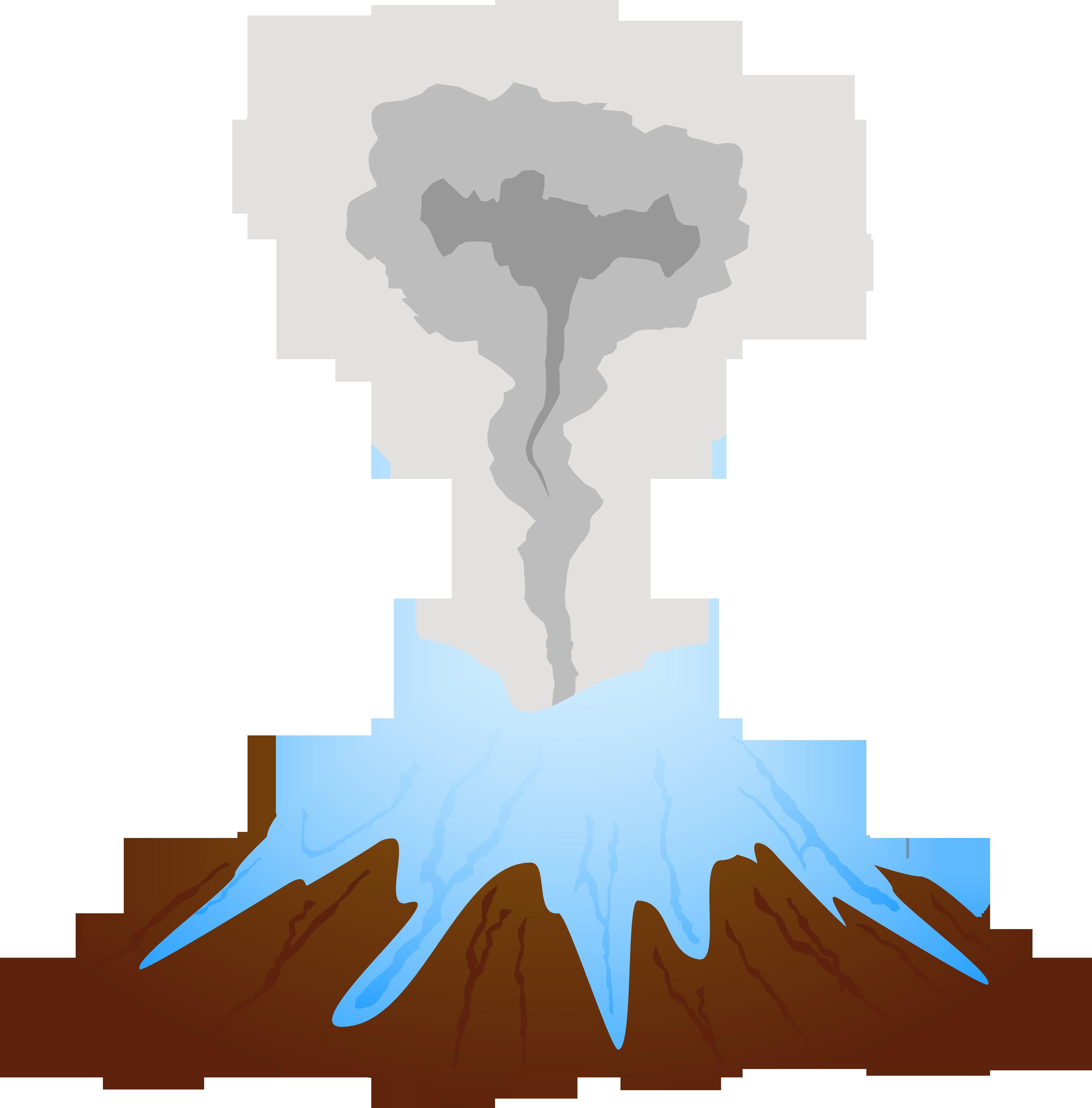 Картинки вулкан на прозрачном фоне