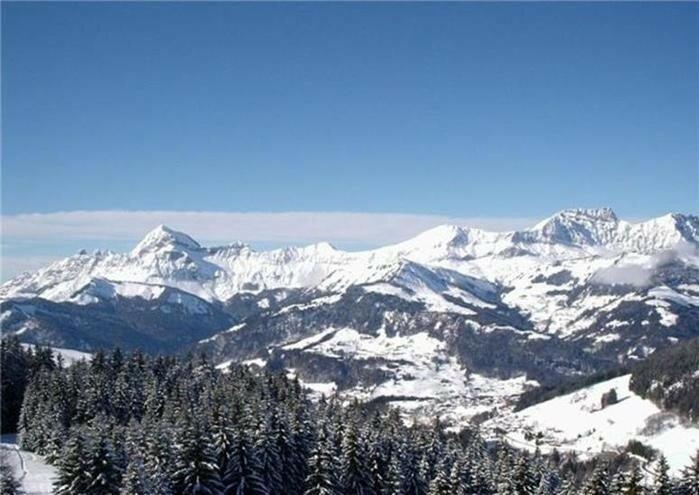 Прекрасные европейские горы Альпы в снегу 0 221f5e cfab649 XL