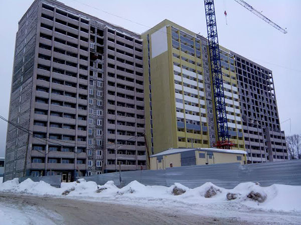 Объёмы строительства жилья в Кирове падают