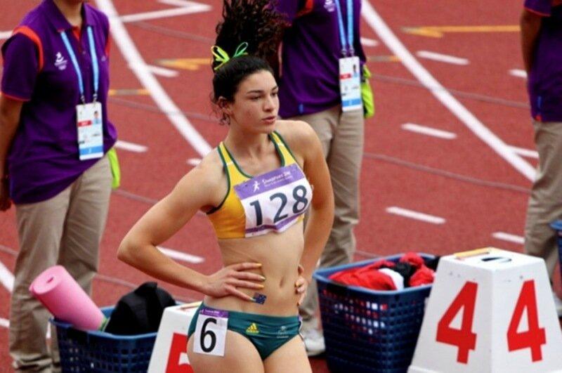 Самая жизнерадостная спортсменка Мишель Дженнеке