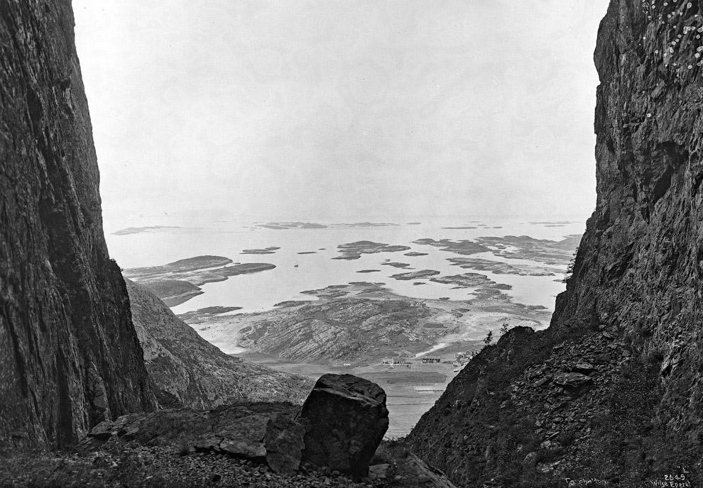 6. 1885 и 2008 года. Природные пейзажи Норвегии остаются практически неизменны. Нажмите, чтобы увиде