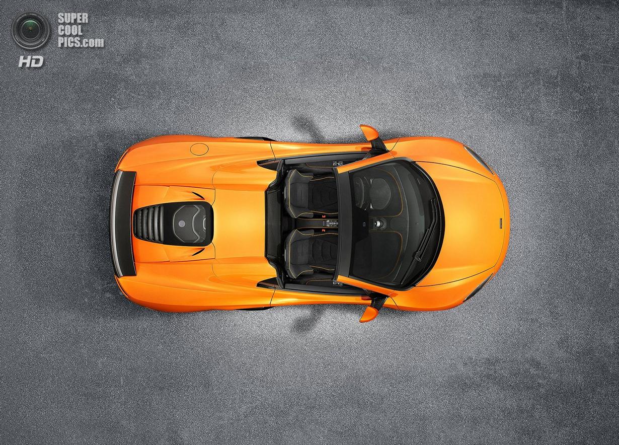 McLaren 650S в версии Spider