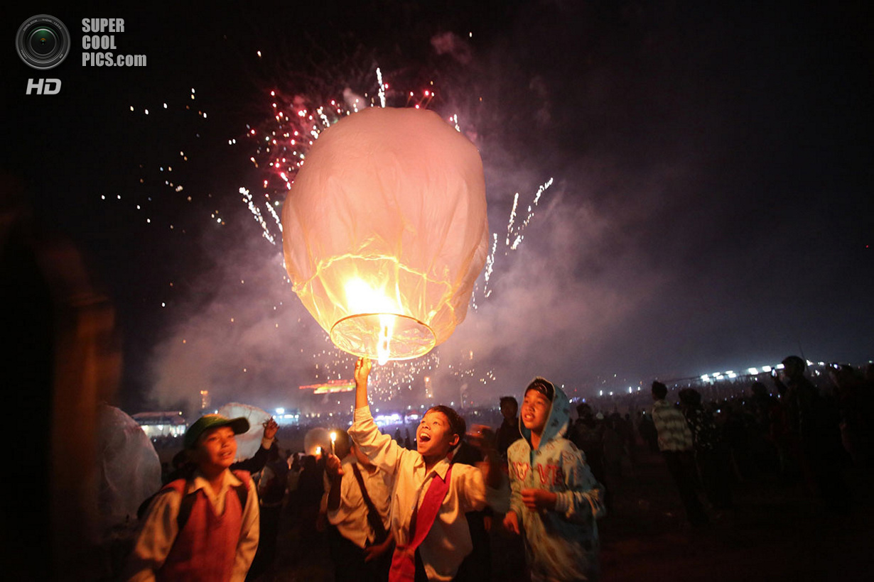 Фестивальные ночи в Мьянме и Таиланде (17 фото)