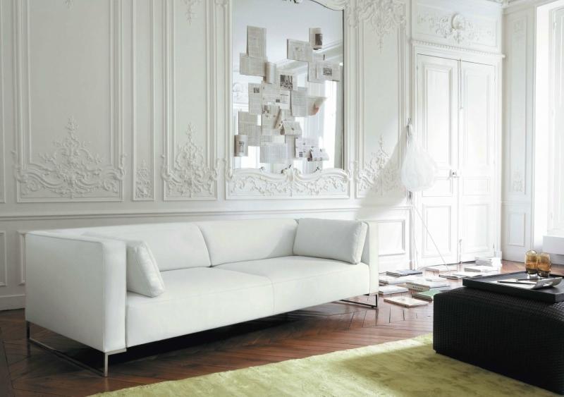 Дизайн интерьера гостиной в светлых оттенках фото 27