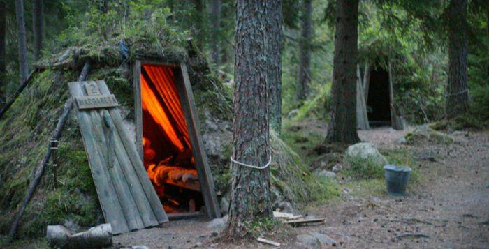 отель в швеции в лесу 3