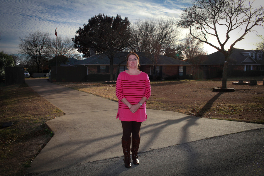 Kathleen: Shot in the head by her husband at their home in Ovilla, Texas, in 2007.