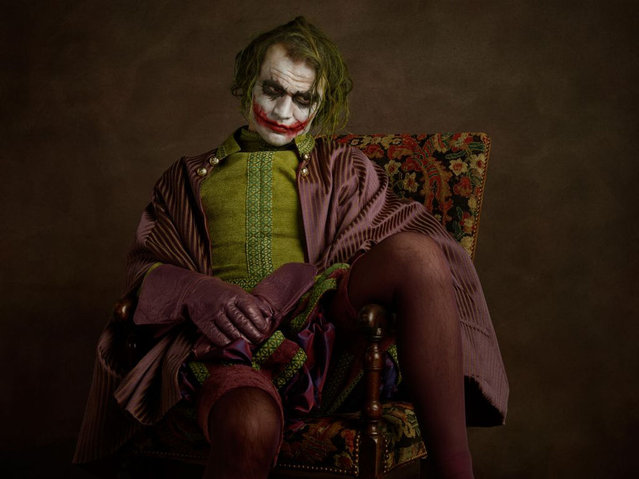 Elizabethan Superheroes and Star Wars Characters by Sacha Goldberger