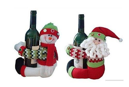 Новогодние наряды для бутылок