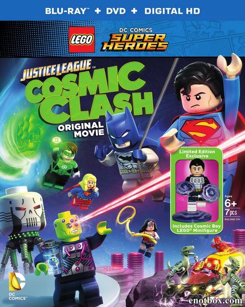 LEGO Супергерои DC: Лига Справедливости – Космическая битва Lego / DC Comics Super Heroes: Justice League - Cosmic Clash (2016/BDRip/HDRip)