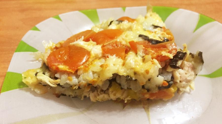 Японская пицца Тори Маки