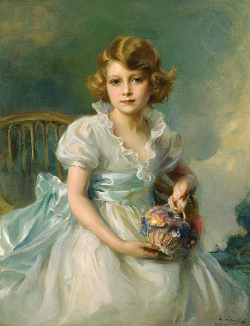 Елизавета II в возрасте 8 лет 1933 год