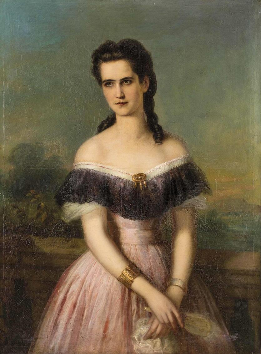 """""""Carl Martin Ebersberg (Biberach bei Württemberg 1824-1880 Graz)"""