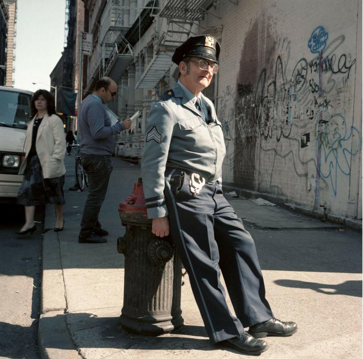 1984. Полицейский, Сохо
