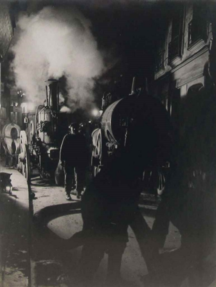 1932. Мусорщики за работой