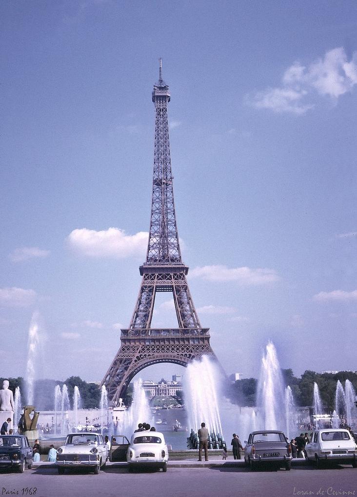 1968. Эйфелева башня