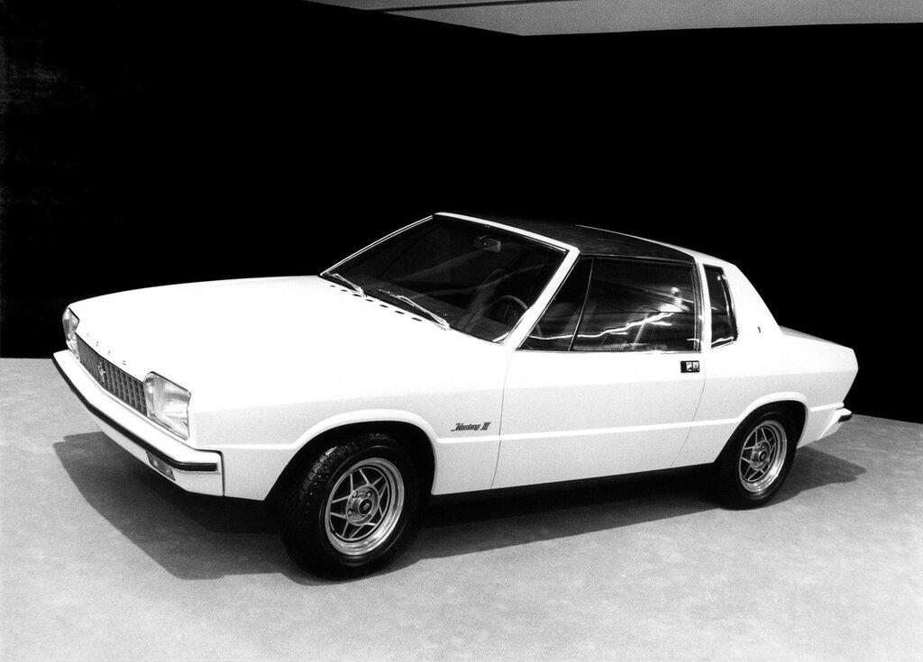 Studie eines Frontantriebs-Coupés auf Fiesta-Basis - Genfer Autosalon 1976