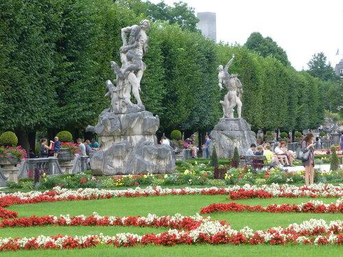 Парк Мирабель. Зальцбург